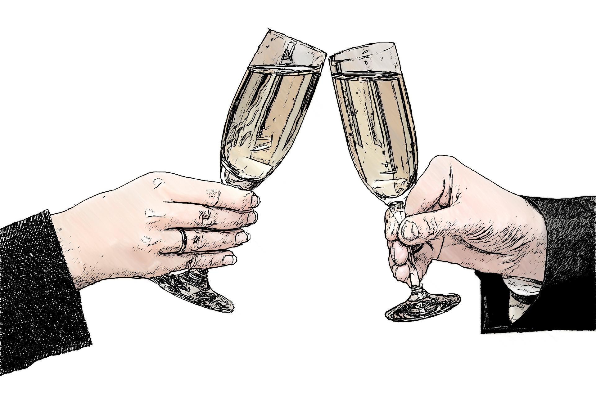 image champagne skål